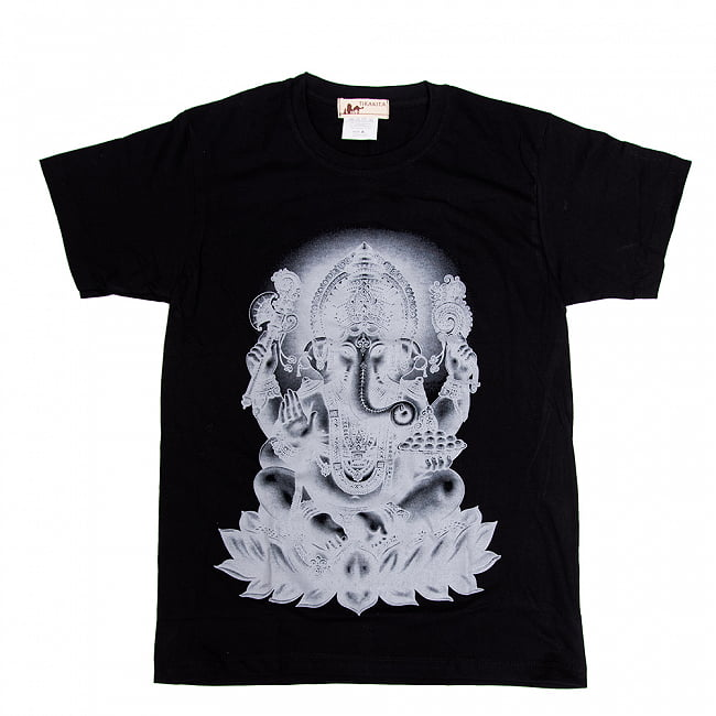 インドの神様!クールなガネーシャTシャツの写真