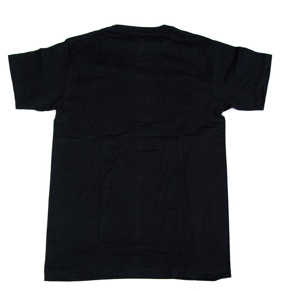 天高く咲く蓮 Tシャツ 3 - 裏面は無地になっています