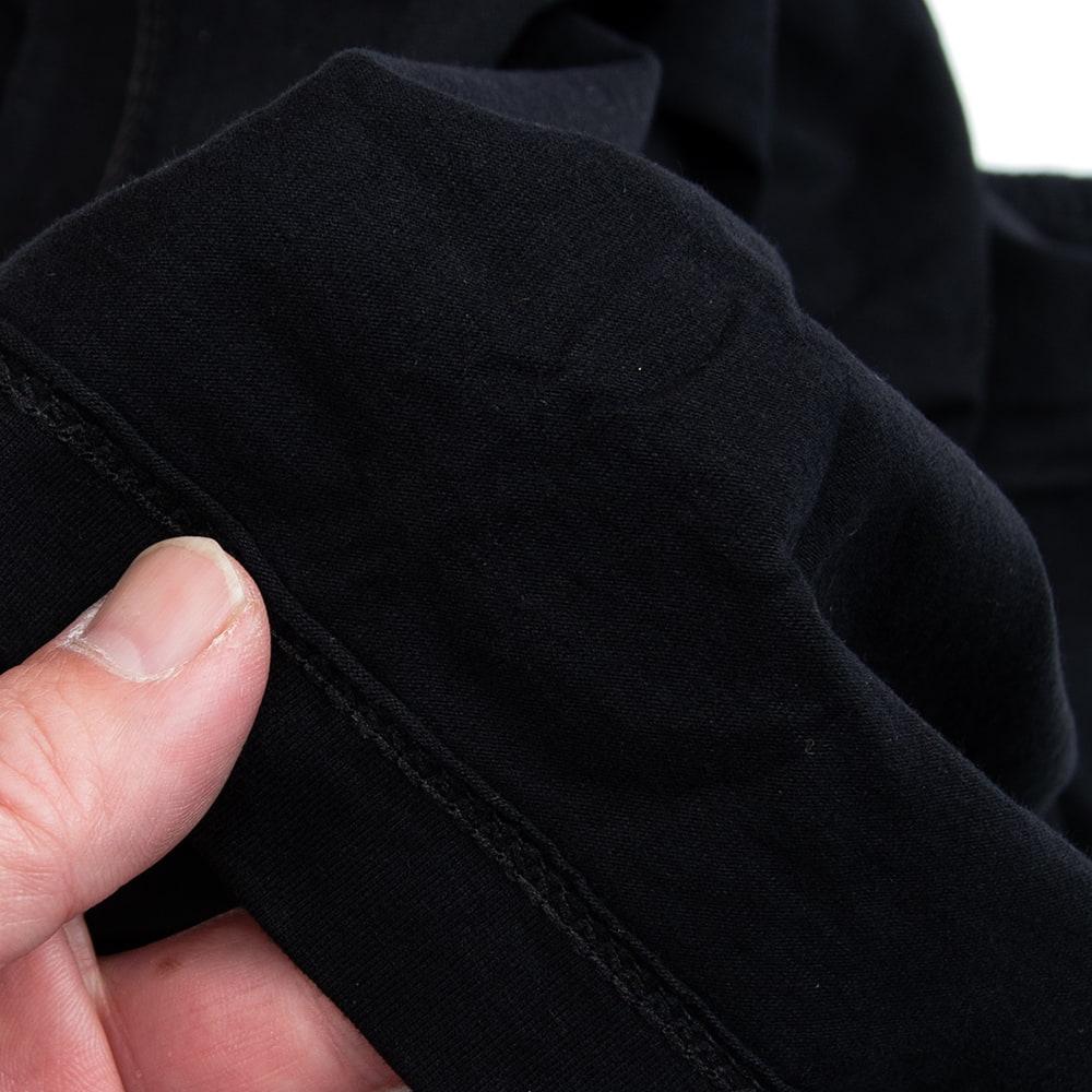 天高く咲く蓮 Tシャツ 4 - 左から、ブラック、ネイビー、ブルーグレーです。