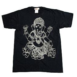 インドの神様!ガネーシャ Tシャツ