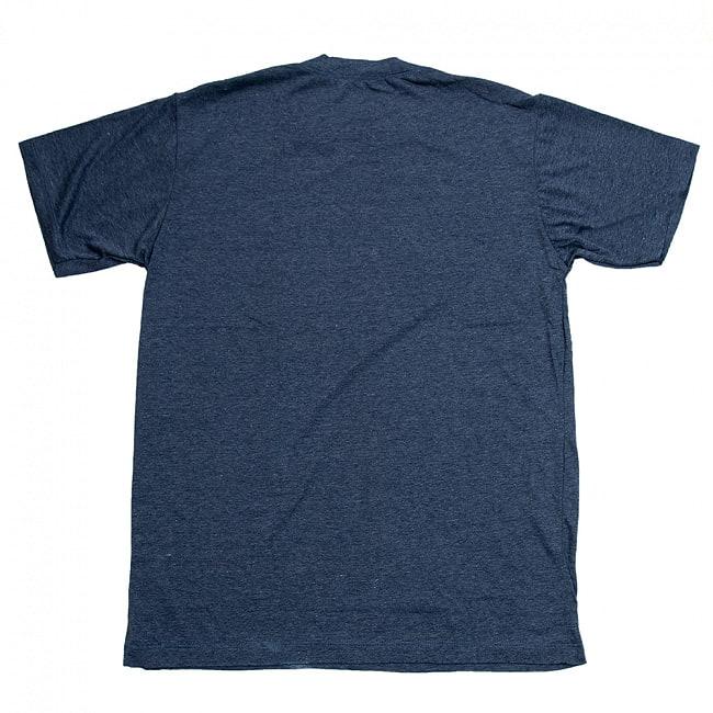 ガネーシャアイ Tシャツ【ヘザー生地】 2 - 裏面の写真です