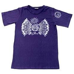 シヴァのひかり ウッドブロックプリントTシャツ