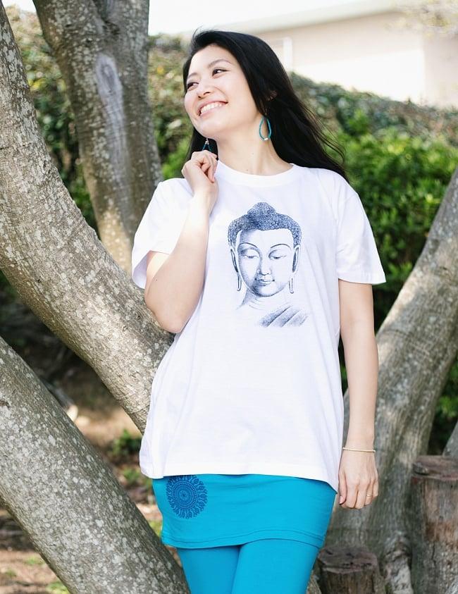 ブッダTシャツの写真