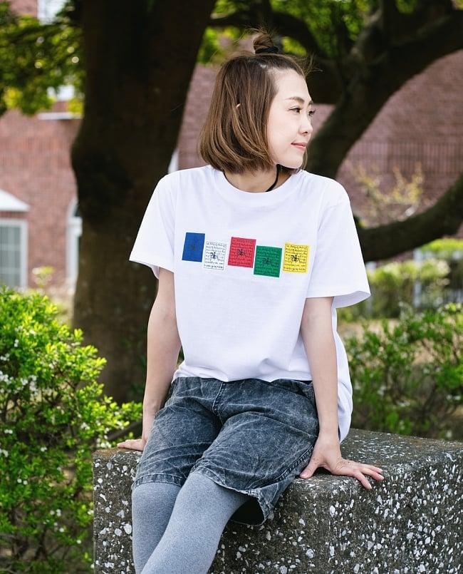 タルチョーTシャツの写真