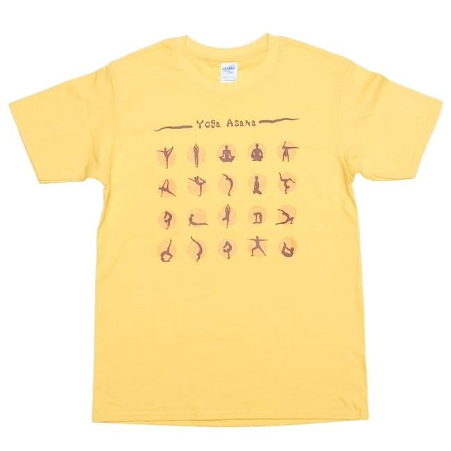 20ヨガポーズTシャツ ティラキタオリジナルデザイン 16 - デイジー