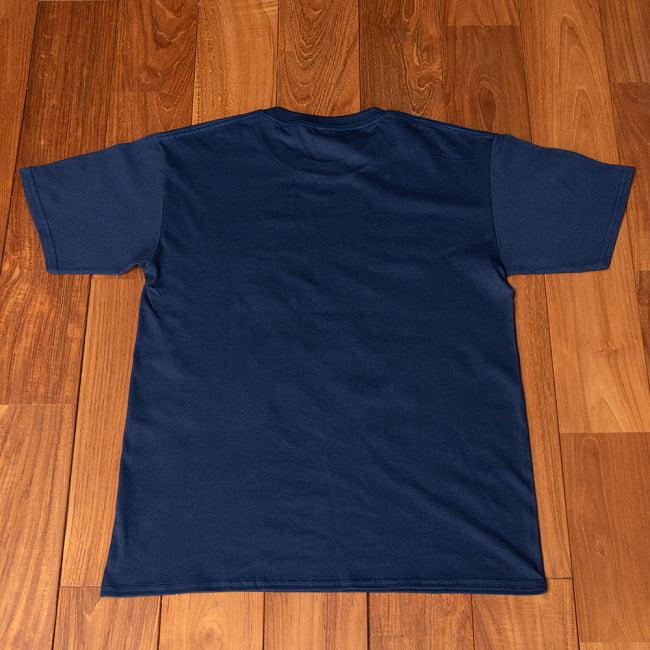 Chalo! India Tシャツ インド乗り物の王様、オートリキシャ 11 - 裏面です