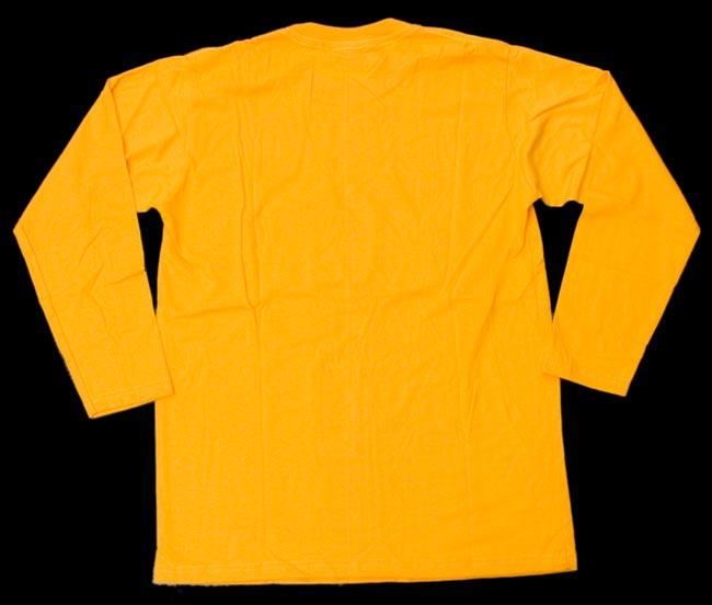 マリファナ長袖Tシャツ 3 - 裏側の全体写真です。