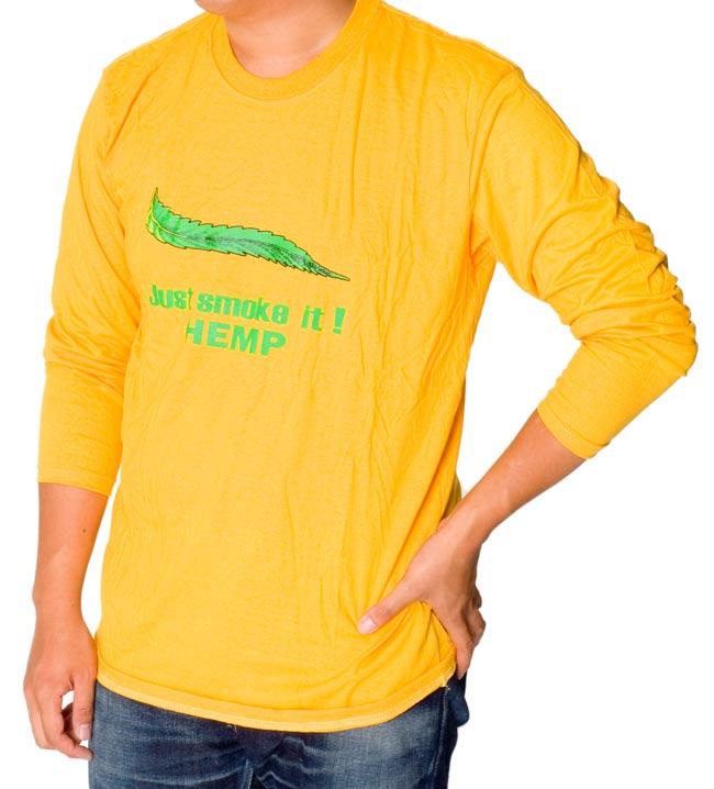 マリファナ長袖Tシャツの写真