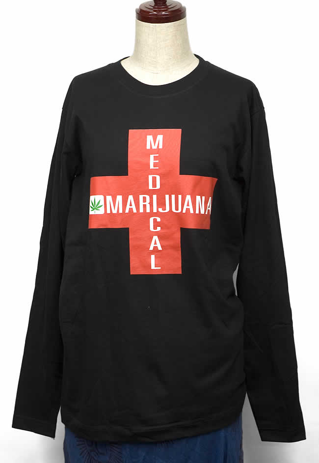 メディカル・マリファナ長袖Tシャツの写真1