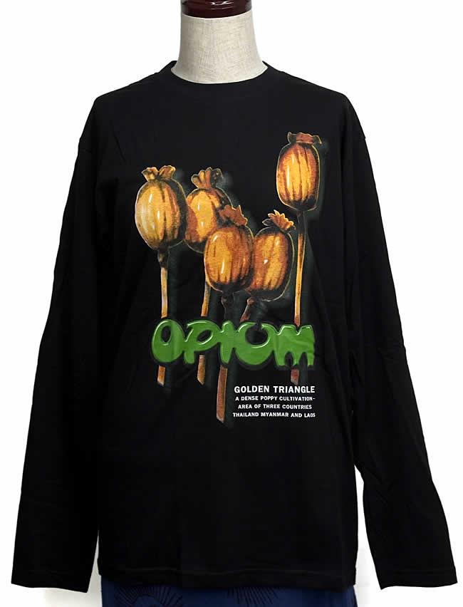 オピュウム 長袖Tシャツの写真1