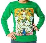 Cannabis Queen 長袖Tシャツ