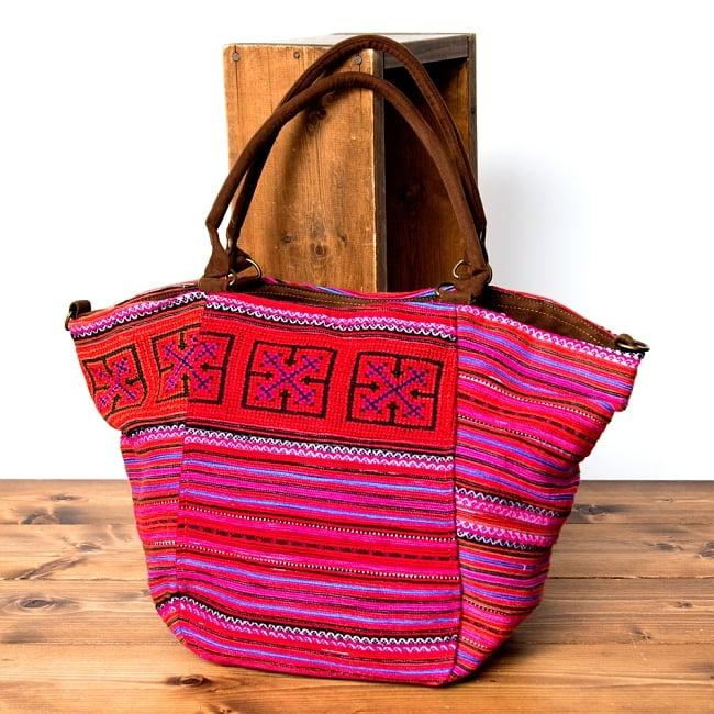 モン族刺繍の2WAYバッグ 15 - 選択Bです。