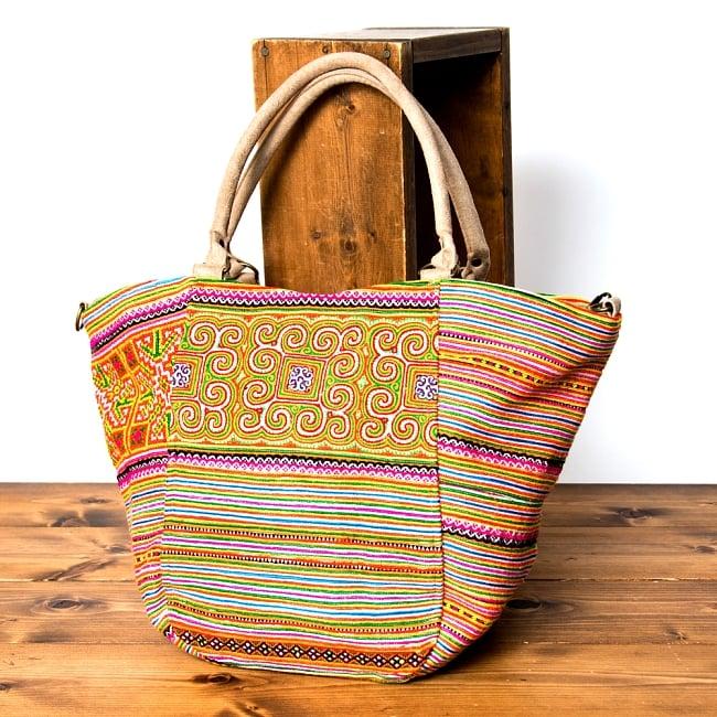 モン族刺繍の2WAYバッグ 16 - 選択Cです。