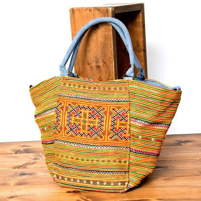 モン族刺繍の2WAYバッグ 17 - 選択Dです。
