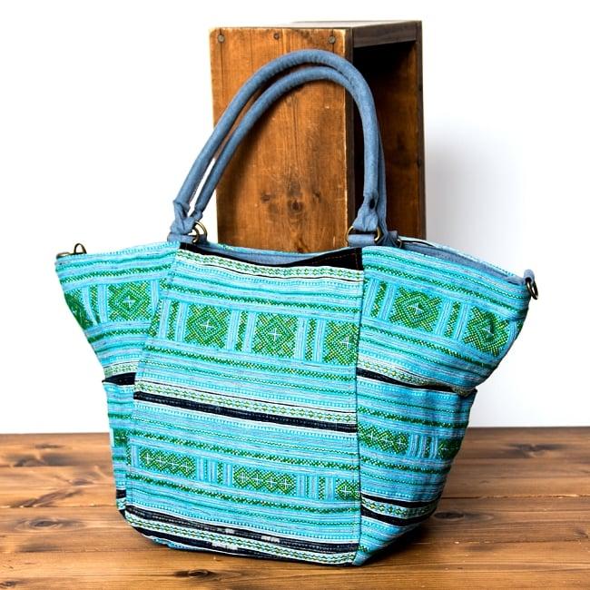 モン族刺繍の2WAYバッグ 18 - 選択Eです。