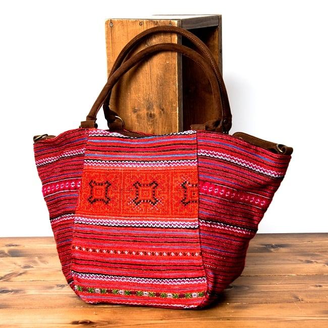 モン族刺繍の2WAYバッグの写真