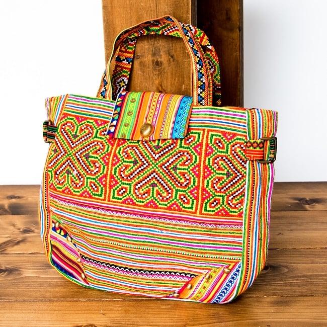 モン族刺繍のトートバッグ 16 - 選択Cです。