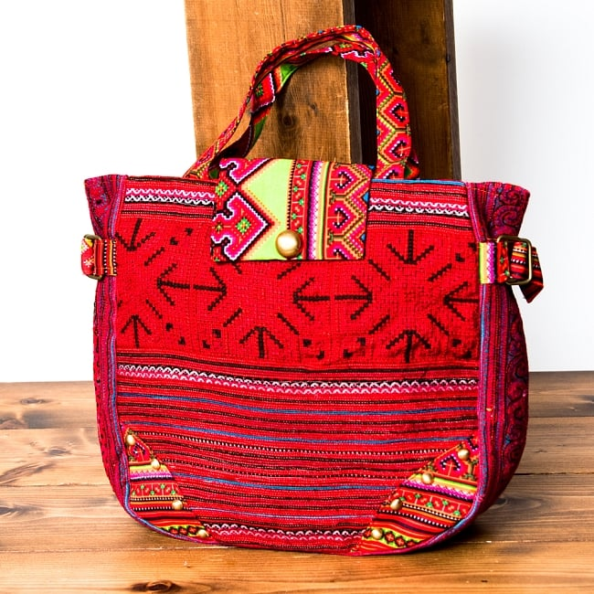 モン族刺繍のトートバッグ 18 - 選択Dです。