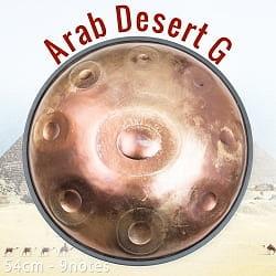 ハンドパン Arab Desert G【54cm - 9notes】 -ソフトケース付属の商品写真