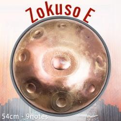[アジア品質]ハンドパン Zokuso E【54cm - 9notes】 -ソフトケース付属