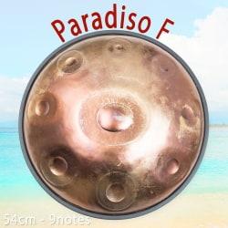 ハンドパン paradiso F【54cm - 9notes】 -ソフトケース付属