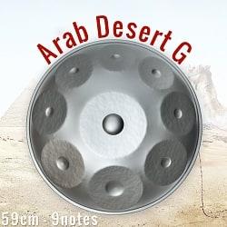 ハンドパン Arab Desert G【59cm - 9notes】 -ソフトケース付属