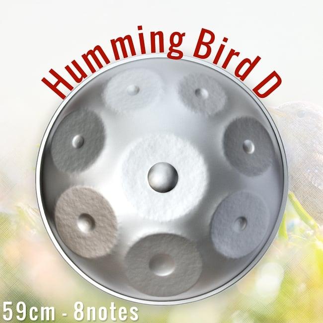 ハンドパン Humming Bird D【59cm - 8notes】 -ソフトケース付属の写真