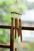 竹とココナッツの風鈴(小サイズ)