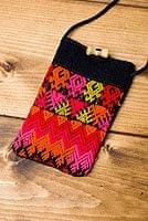 [8cm×13cm]モン族刺繍のスマホケース