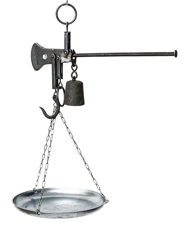 アンティーク風吊りはかり(大)  10kgまで計測の写真