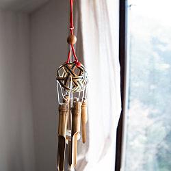 竹籠の風鈴