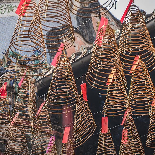 一週間燃え続ける アジアの渦巻き お香 - 35cm 3 - ベトナムのお寺ではこの様に使われています
