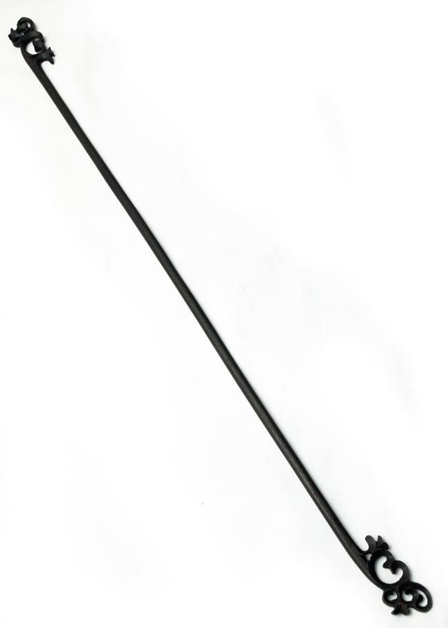 バリのエスニックハンガー - 120cmの写真